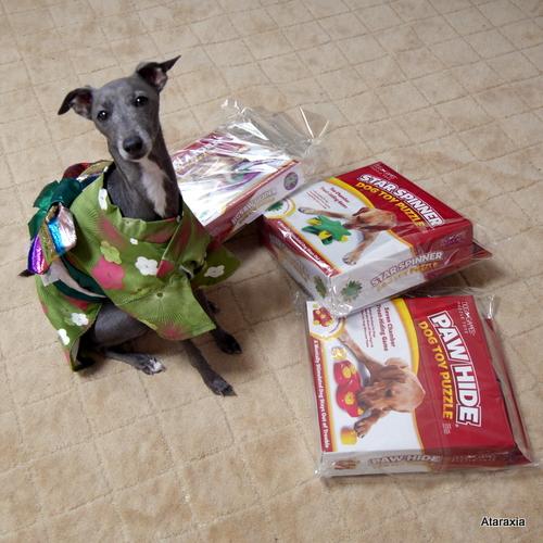 犬用知育玩具