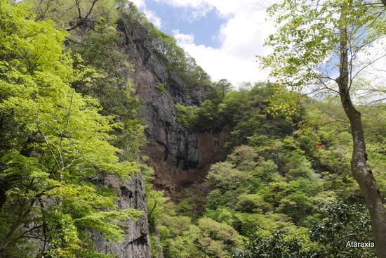袋田の滝断崖