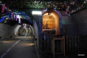 袋田の滝トンネル胎内観音